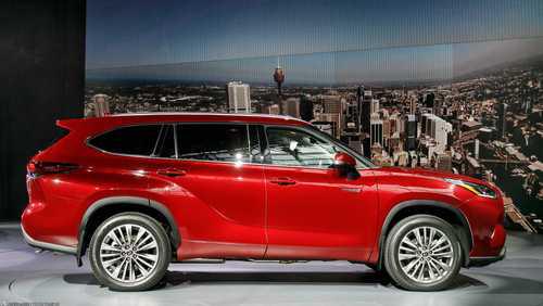 اخبار,دنیای خودرو,تویوتا هایلندر 2020